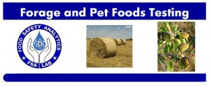 forage and pet foods testing